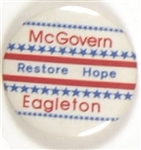 Restore Hope With McGovern