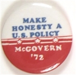 McGovern Make Honesty a US Policy
