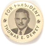 Dewey for President Large Eagles Pin