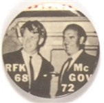 McGovern and Robert Kennedy Celluloid