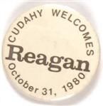 Cudahy, Wisc. Welcomes Reagan 1980 Celluloid
