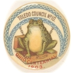 Toledo Council No. 10 Ohio Centennial Frog Pin