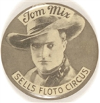 Tom Mix Sells Foto Circus