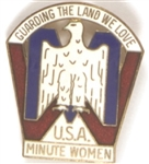 USA Minute Women Guarding the Land We Love