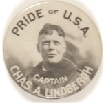 Captain Lindbergh, Pride of the USA