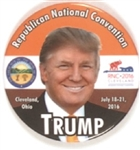 Trump Republican Convention Cleveland Pin