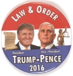Trump, Pence Law and Order Jugate