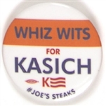 Whiz Wits for Kasich Philadelphia Pin