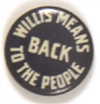 Willis Back to the People Ohio Celluloid