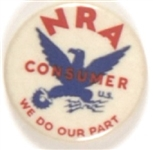 NRA Member Smaller Size Pin