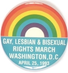 Gay Rights Washington, D.C. 1993 March