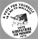 Vote Kirkpatrick for President