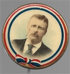 Theodore Roosevelt Classic Colorful Celluloid