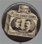 McKinley-TR Brown Dinner Pail