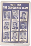 Johnson, Ted Kennedy Massachusetts Campaign Card