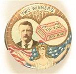 Theodore Roosevelt Zig Zag Two Winners Clipback
