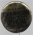 Stevenson, Kefauver Chicago Jubilee and Salute