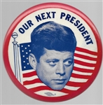 John Kennedy Our Next President 4-Inch Celluloid