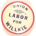 Union Labor for Willkie