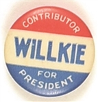 Willkie for President Contributor