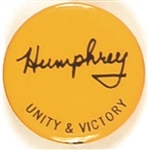 Humphrey Unity and Victory