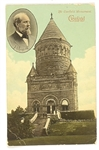 Garfield Memorial Postcard