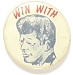 Win With Kennedy Picture Pin