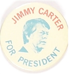 Carter for President Red, White and Blue Celluloid