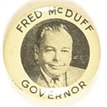 Fred McDuff for Governor, Oklahoma