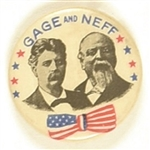 Gage and Neff, California Scarce Celluloid