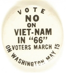 Vote No on Viet-Nam in 1966