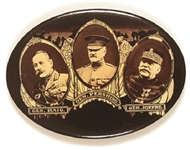 Pershing, Haig, Joffre World War I Mirror