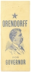 Orendorff for Governor of Illinois