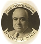 Harry Nice for Governor Maryland