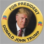 Donald John Trump for President 4 Inch Pin