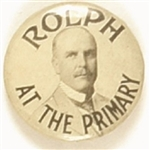 Rolph in the California Primary