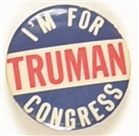 Im for Truman for Congress, California?