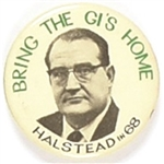 Halstead Bring the GIs Home