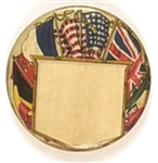 World War I Allied Flags Pin