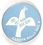 Vietnam War Garden Rally Dove of Peace