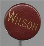 Woodrow Wilson Red, Gold Celluloid