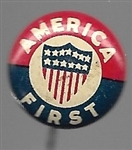 America First World War II Isolationist Pin