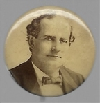 William Jennings Bryan Sepia Celluloid