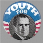 Youth for Nixon Smaller Size Pin