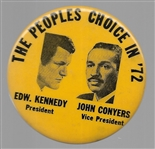 Kennedy, Conyers the Peoples Choice