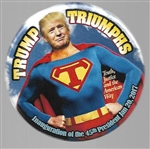 Trump Triumphs Superman