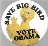 Save Big Bird Vote Obama