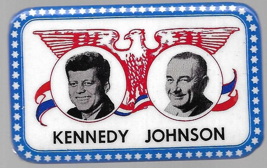 Kennedy Johnson Fargo Rubber Stamp Jugate