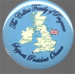 England Collins Family of Penzance Supports President Obama