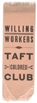 Taft Willing Workers Colored Club